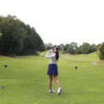 独学でのゴルフスイングのスイング修正の方法について。