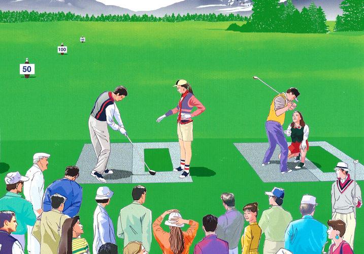 ゴルフのオナーの意味と緊張の克服方法