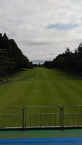 ゴルフ観戦スタンド