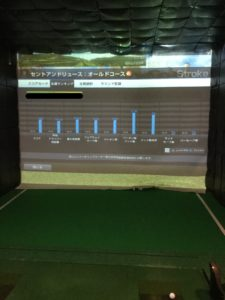 シュミレーションゴルフデータ
