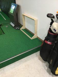 シュミレーションゴルフクラブ置き場